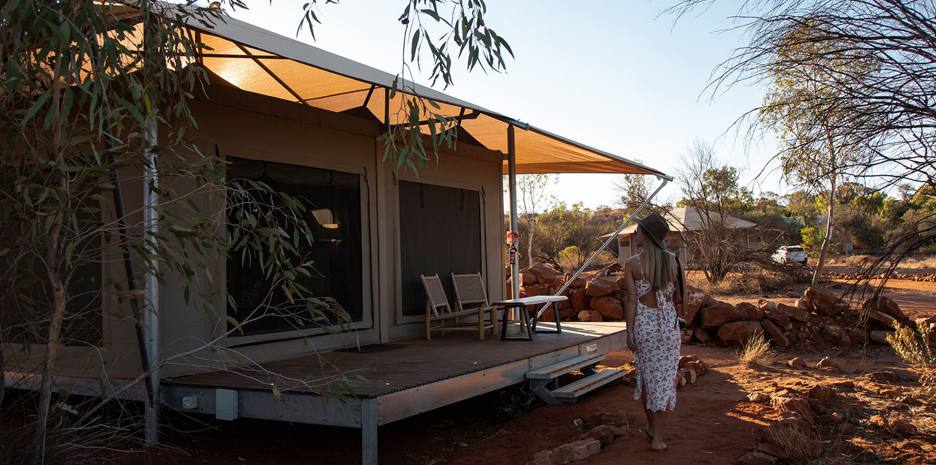 Red Centre & Kings Canyon Glamping Experience